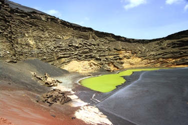 The Green Lagoon at El Golfo